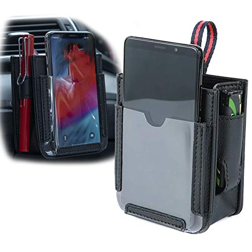 Acreny Bolsa de almacenamiento para teléfono móvil multifuncional de bolsillo para coche