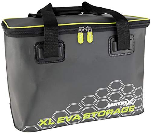 Matrix XL EVA Fishing Tackle Storage Bag durable EVA material Waterproof Seams Wipe Clean