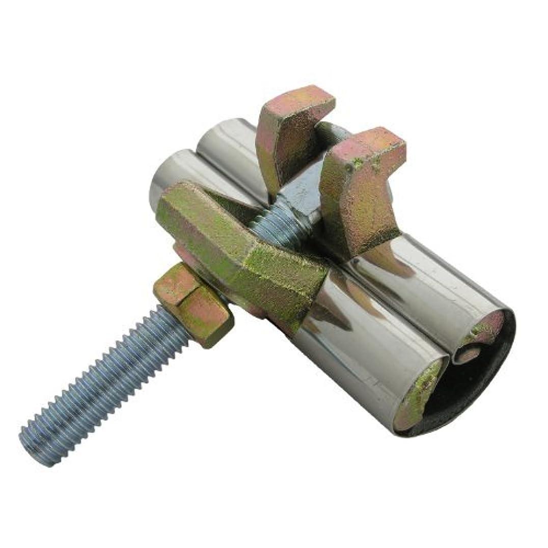 恥最初はサイドボードLASCO 13-1298 Stainless Steel One-Piece Pipe Repair Clamp with Single Bolt, 3-Inch [並行輸入品]