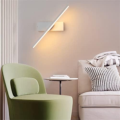 Lámparas de Pared LED de Interior 360 ° Rotating Up and Down Lámpara de Pared LED Muro de Madera Sconence para Sala de Estar Dormitorio Dormitorio Comedor Corredor Escalera Balcón,Neutral,White Plug