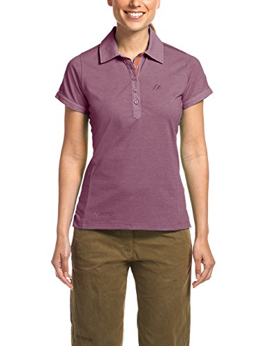Maier Sports Femme Clare W Fonction Polo S Tulipwood Melange