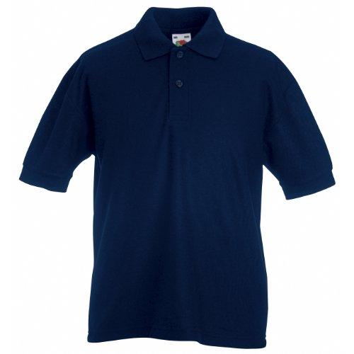 Poloshirt aus Mischgewebe - Farbe: Navy - Größe: 152 (12-13)