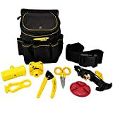 Miller Advanced Fiber-Optic Tool Kit and Storage Pouch, Removable Waist or Shoulder Strap, Wear- and Water-Resistant High-Density Oxford, Portable Set for Professional Electricians and Technicians