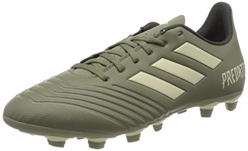adidas Predator 19.4 FxG, Scarpe da Calcio Uomo, Legacy Green/Sand/Solar Yellow, 44 2/3 EU