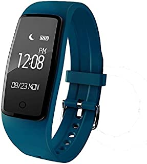 Vibezzz Heart Rate and Fitness Smart Watch (Navy Blue)