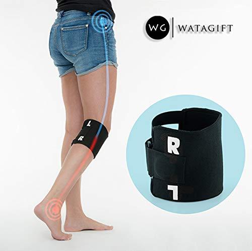 Akupressur-Kniebandage, für Linderung von Ischias-, Rücken-, Hüft-, Knieschmerzen, Hilfe bei Schmerzen, Unterstützung