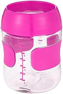 Copo Treinamento Plastico 210 ml - rosa - OXOtot, OXOtot, Rosa