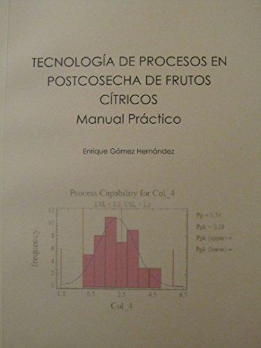TECNOLOGÍA DE PROCESOS EN POSTCOSECHA DE FRUTOS CÍTRICOS: MANUAL PRÁCTICO