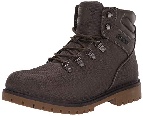 Lugz Women's Grotto II Fashion Boot, Olive/Gum/Dark Brown, 8 M US