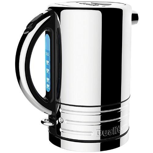 Dualit 72925 Architekt 1,5l Wasserkocher, polierter Stahl mit schwarzem Umriss