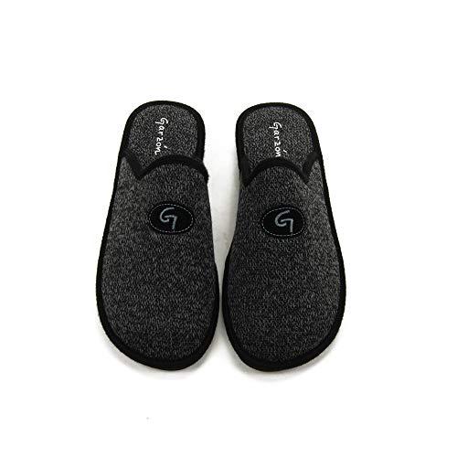 GARZON - Zapatilla CASA P351-JN para: Hombre Color: Negro Talla: 45