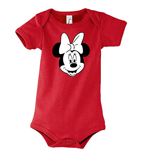TRVPPY - Body de manga corta para bebé y niña, modelo Mini Mouse, tamaño 3-24 meses, en muchos...