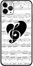 Skinit Decal Phone Skin for iPhone 11 Pro Max Originally Designed BW Musical Notes Design