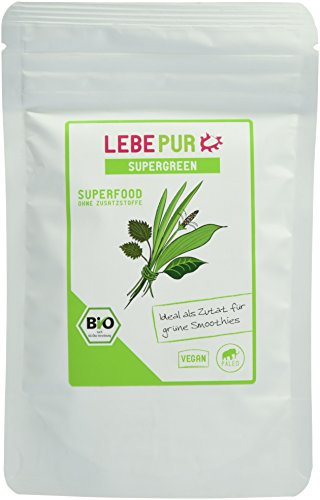 Lebepur Supergreen - Bio, 1er Pack (1 x 100 g)