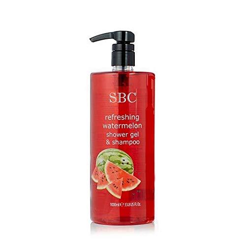SBC Refreshing Watermelon Shower Gel & Shampoo (1000ml)