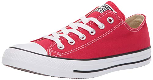CONVERSE Chuck Taylor All Star Seasonal Ox, Unisex-Erwachsene Sneakers, Rot, 39.5 EU