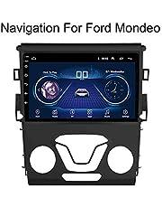 Voor Ford Mondeo 2014-2016 9 Inch Auto Gps Navigatiesysteem Satelliet Navigator Speler Tracker Bluetooth Auto Radio FM/Radio WIFI/Bluetooth/TF/USB/AUX/Touch Screen