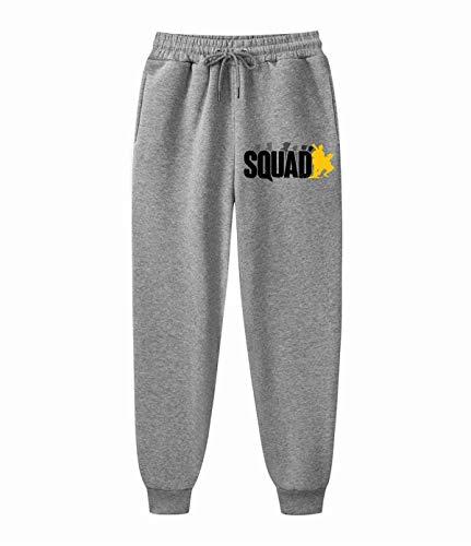 AILIBOTE Squad - Pantalones de chándal cómodos para hombre