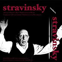 Stravinsky conducts his own Works inc Apollon &Musagate, Oedipus Rex by Peter Pears