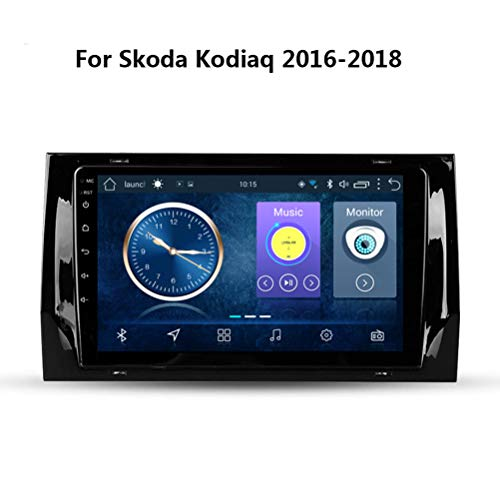Bester der welt Android 8.1 Autoradio Radio Video Player für Skoda Kodiaq 2016-2018, 9 Zoll Touchscreen…