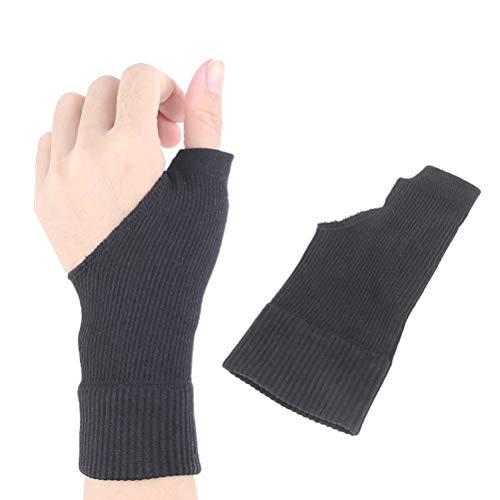 Healifty Wrist Support - Supporto per braccio e pollice per alleviare il dolore di tenosintovite, artrite, reumata, tunnel carpale, colore nero