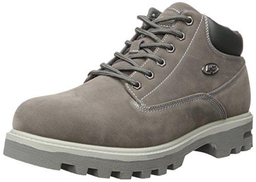 Lugz mens Empire Wr Fashion Boot, Charcoal/Grey, 8 US