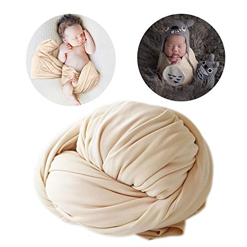 Long Ripple Wrap Photography Prop Stretch Cheesecloth Wraps Photo blanket props for Newborn Baby