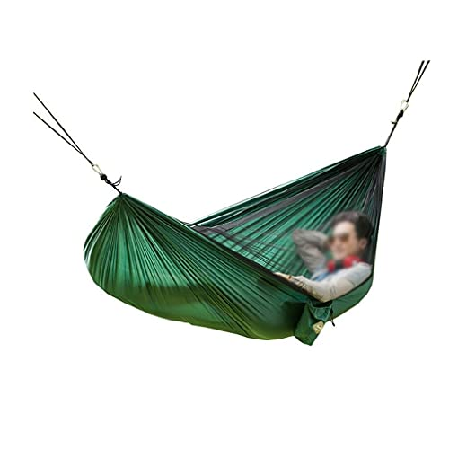 XYX Nylon Double Parachute Paño Mosquito Net Hamaca con Silla Colgante de mosquitera Camping al Aire Libre