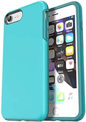Krichit iPhone se case, Ongoing Series iPhone se 2020 case and iPhone 7 case iPhone 8 case, Anti-Drop Shock-Absorbing case (iPhone 7/8/SE 2020, Aqua)