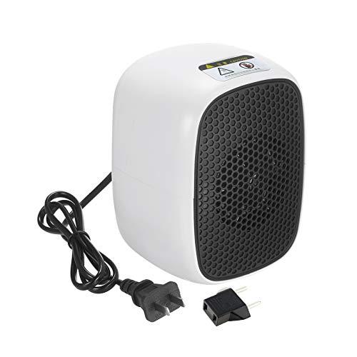 Kshzmoto Calentador de Espacio portátil 500W PTC Calentador de cerámica Mini Estufa...