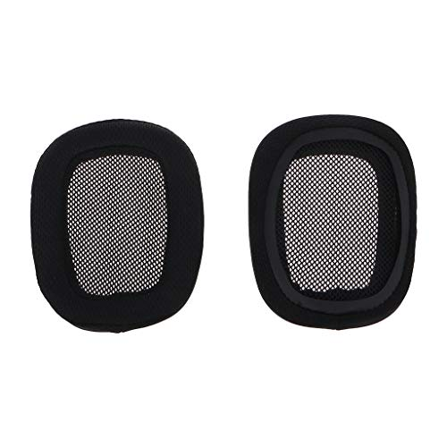 Geneic 1 par de almohadillas para auriculares de espuma suave esponja de repuesto para Logitech G533