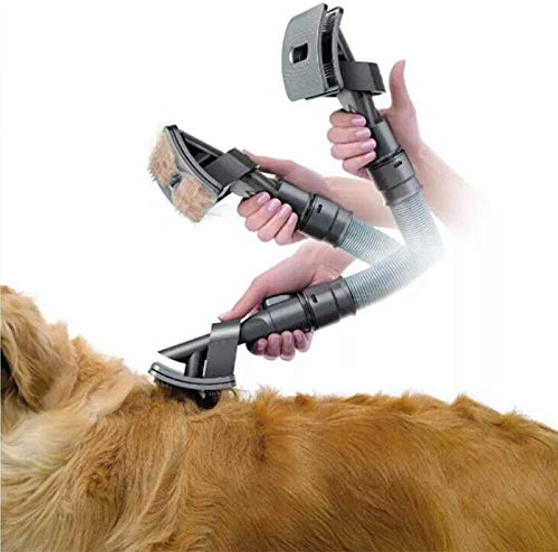 Generic uum CleanerTool C Compatible Groom Grooming Dog Pet Animal Allergy Brush Tool Vacuum Cleaner Grooming Dog Pet Brush Too