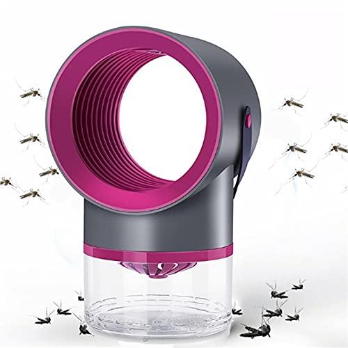 WJY Lámpara Anti Mosquitos,5W Fotocatalizador Mudo LED Fly Kille Mosquito Lamp 360° Mano El Ahorro de Energía Lámpara Mata Insectos para el Asesino de Insectos del Dormitorio Al Aire Libre