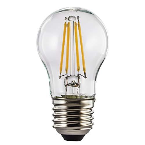 Ampoule LED, 4W, en forme de goutte, filament, E27, blanc chaud