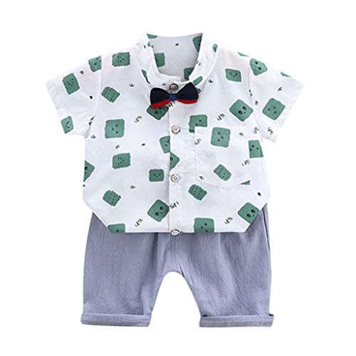 Julhold Peuter Kid Baby Jongens Leuke Mode Cartoon Kleine Beer T Shirt Katoen Tops Letter Shorts Outfits Set 0-3 Jaar