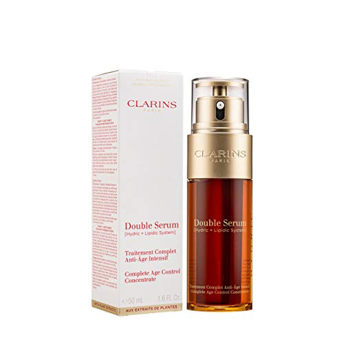 CLARINS DOUBLE SERUM [ HYDRIC + LIPIDIC SYSTEM ] COMPLETE AGE CONTROL KONZENTRAT, 50 ml