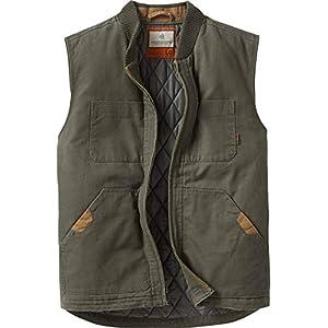 Men's Canvas Cross Trail Vest Army XX-Large