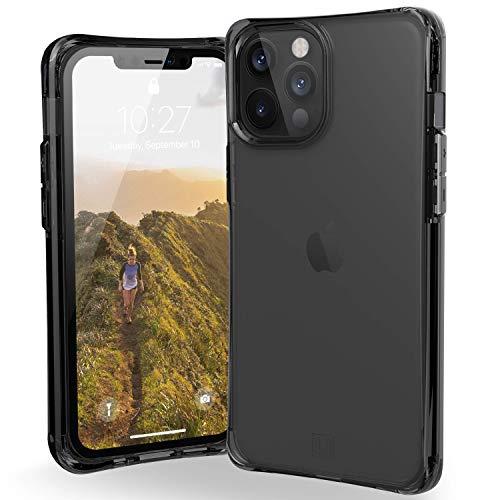 "Preisvergleich Produktbild U by UAG [U] Mouve Schutzhülle Apple iPhone 12 Pro Max (6, 7"" Zoll) Hülle (Transparentes Case,  Wireless Charging kompatibles Cover,  Sturzfest,  Ultra Slim Bumper) - ash (grau transparent)"