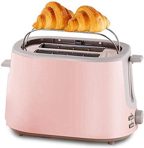 Broodrooster, Huis 2 Stuk Ontbijt Roestvrij Staal Roosteren Spit Driver met Verborgen Grill Thuis Must-Have Toaster leilims