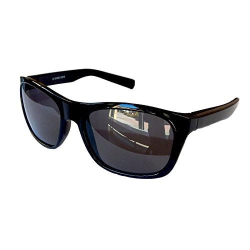 Gil SSC Nerd Retro Gafas de sol Negro Espejo