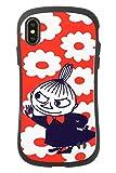 iFace First Class ムーミン iPhone XS/X ケース [リトルミイ/花柄]