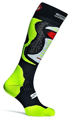 SIDI Motorrad Motocross Enduro Socken Faenza Fluo neon gelb Größe S/M