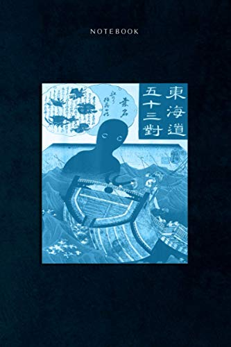 Lined Notebook Journal Umibozu Japanese Folklore Yokai...