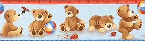 Julius Zöllner 8890010870 - Tapetenbordüre Teddy, 5m
