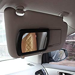 in budget affordable Sun visor mirror clip, silent shopping car cosmetic mirror car cosmetic mirror …