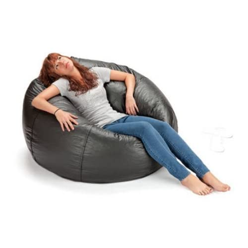 Fantastic Vinyl Bean Bag Chair Amazon Com Forskolin Free Trial Chair Design Images Forskolin Free Trialorg