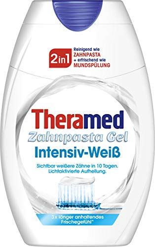 Theramed Zahncreme 2in1 Intensiv Weiß, 1er Pack (1 x 75 ml)