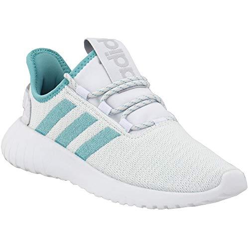 adidas Womens Kaptir X Running Shoes Running Casual Shoes, White, 8