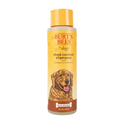 Best Dog Shampoo for Shedding, Burt's Bees for Dogs Natural Shed Control Shampoo