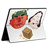 igsticker Surface Pro X 専用スキンシール サーフェス プロ エックス ノートブック ノートパソコン カバー ケース フィルム ステッカー アクセサリー 保護 016454 節分 鬼 おたふく 豆
